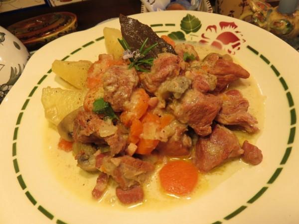 Mijoté de veau de la Mère Mitraille - Canal Gourmandises