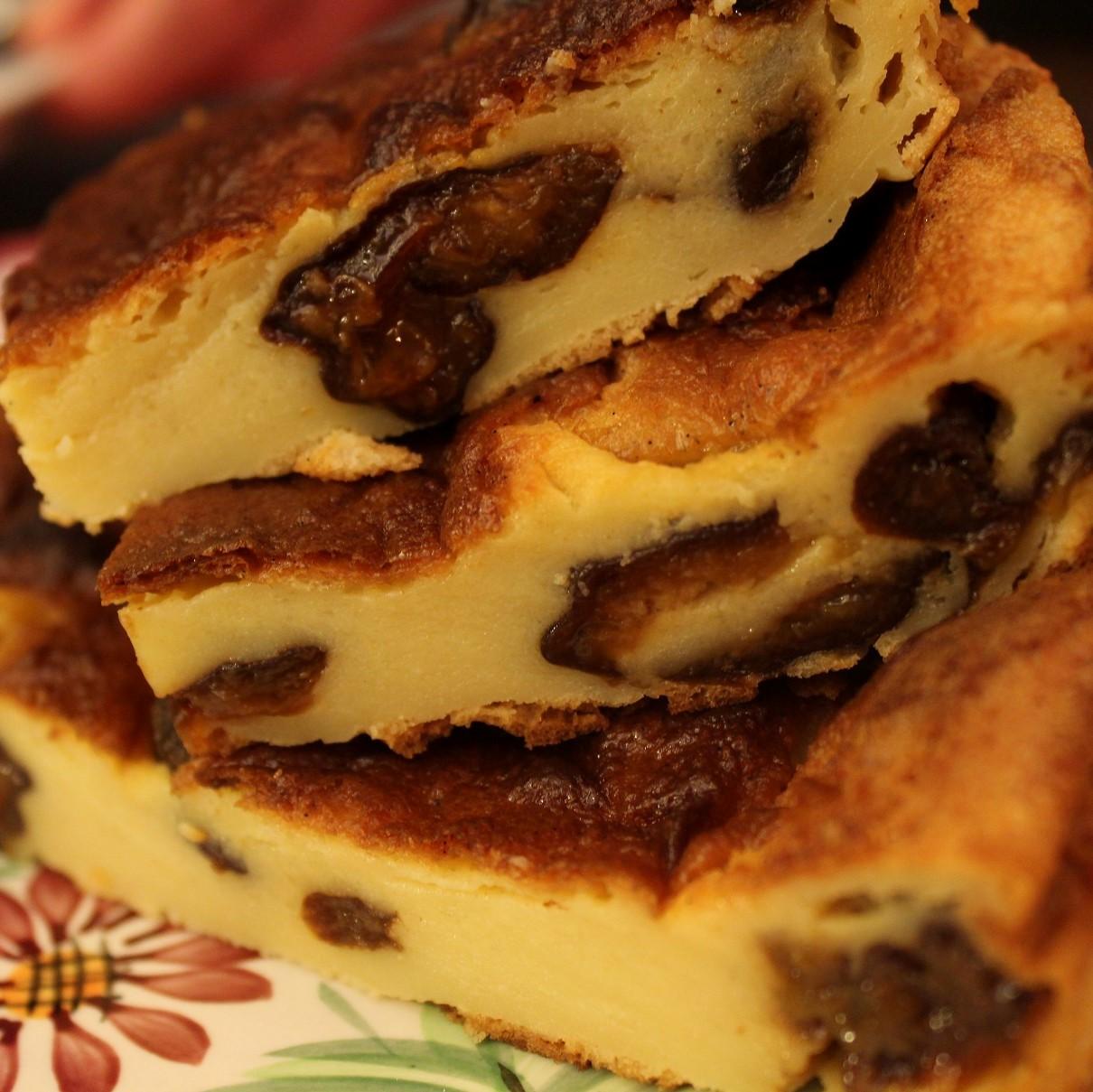 Far Breton, recette traditionnelle, aux pruneaux. Un pur délice.