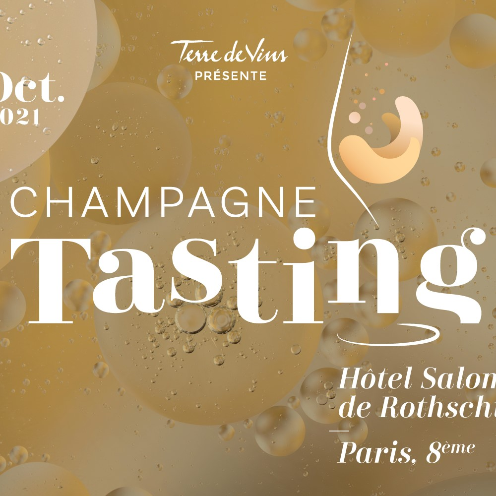 PARIS : Champagne Tasting - 4ème édition le 23 octobre 2021