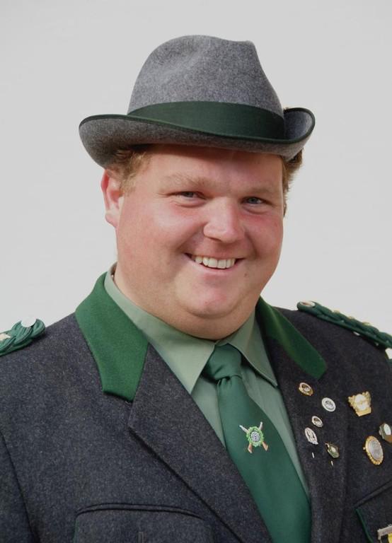 1. Schützenmeister Christian Huber