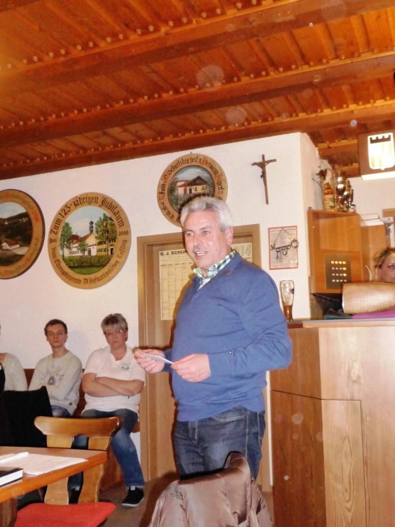 2. Bürgermeister Hans Eckmann