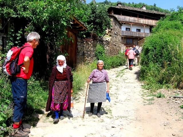 Begegnungen mit den Einheimischen
