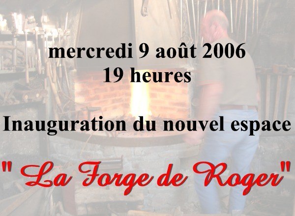 Pierre Cazal fait revivre la forge de Roger Emérial