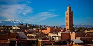 traumhaft die Lage von Marrakesch
