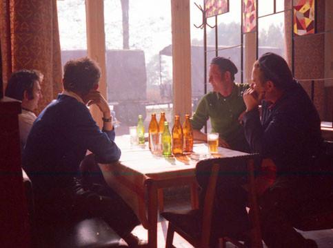 Fiesta in den kühlen Tavernen
