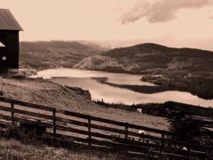 wunderbare Landschaften südlich von Trondheim