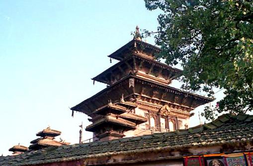 der Palast-Komplex des Hanuman Dhoka