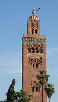 überragend der Turm der Kutubia