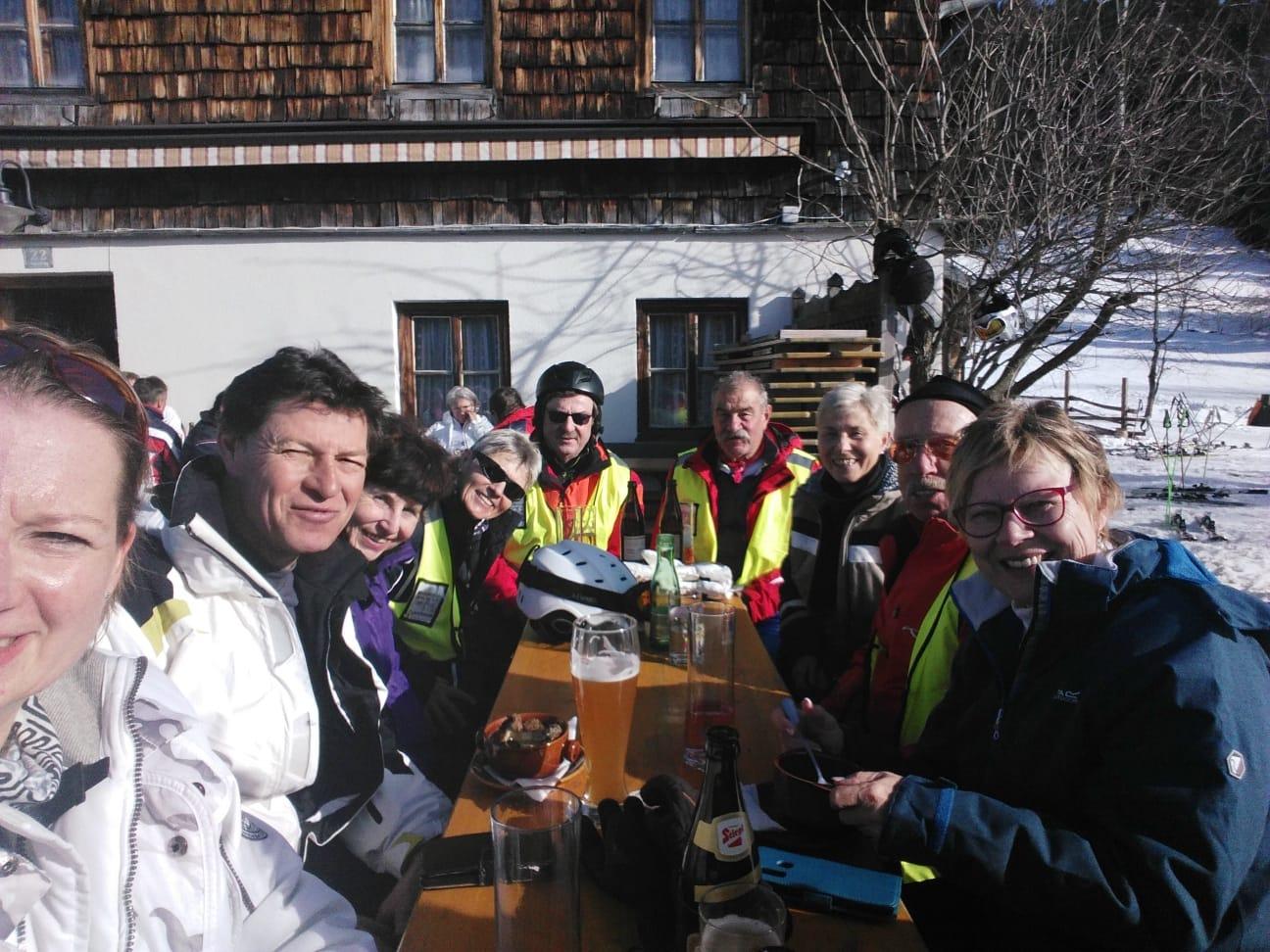 1. Tag Skifahrer Racingteam 2