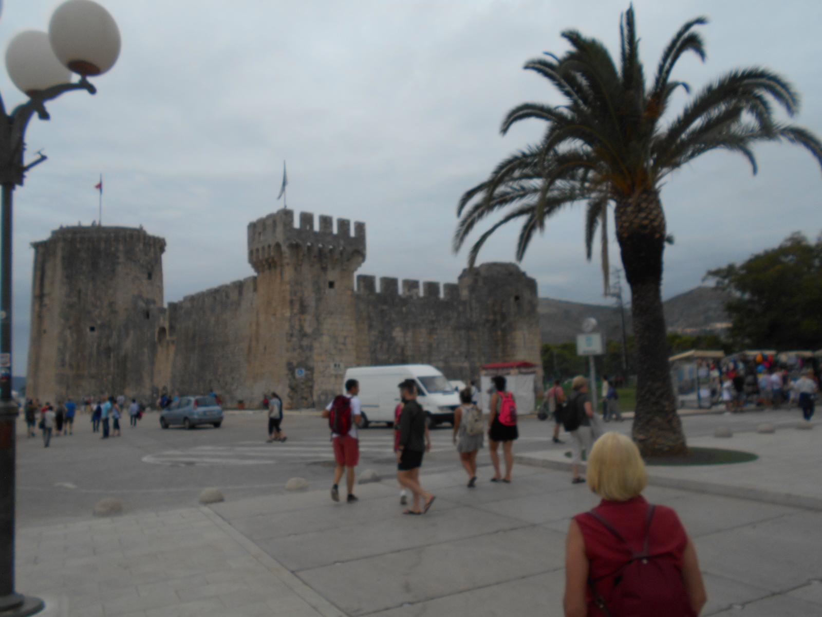 Die Festung Kamerlengo in Trogir