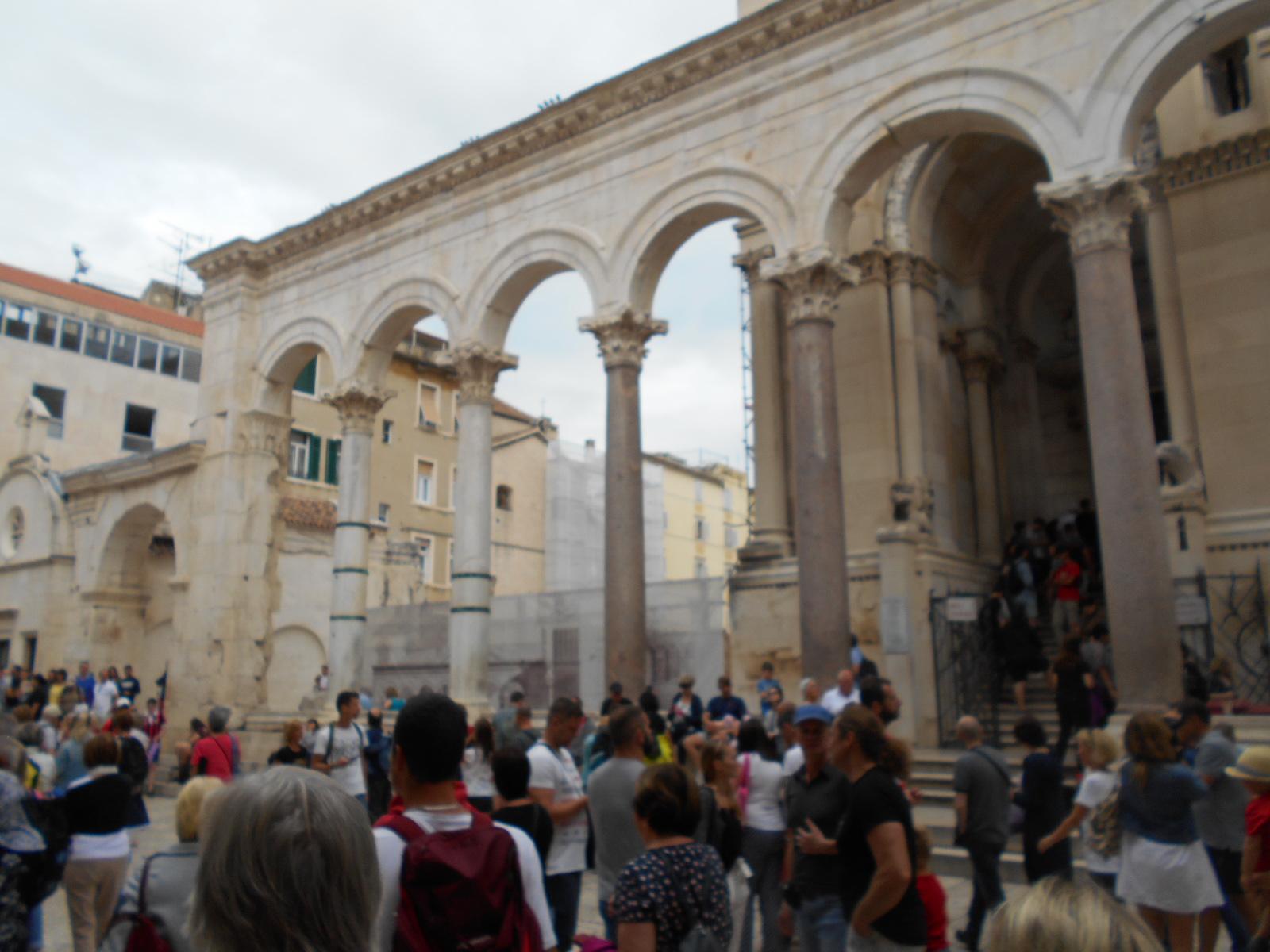 Ruinen des Diokletianspalastes