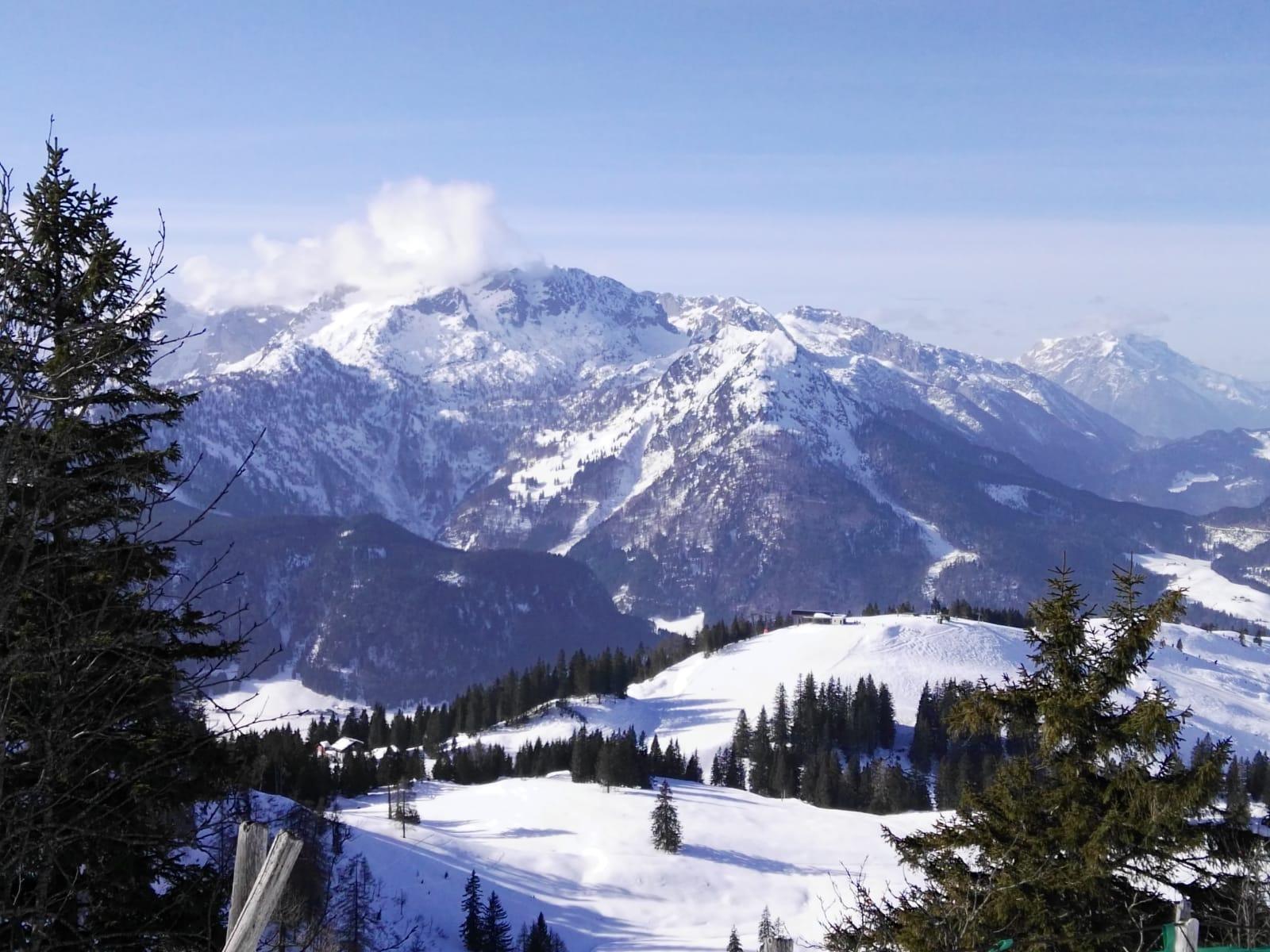 4. Tag (1) Skigebiet Dachstein Panorama