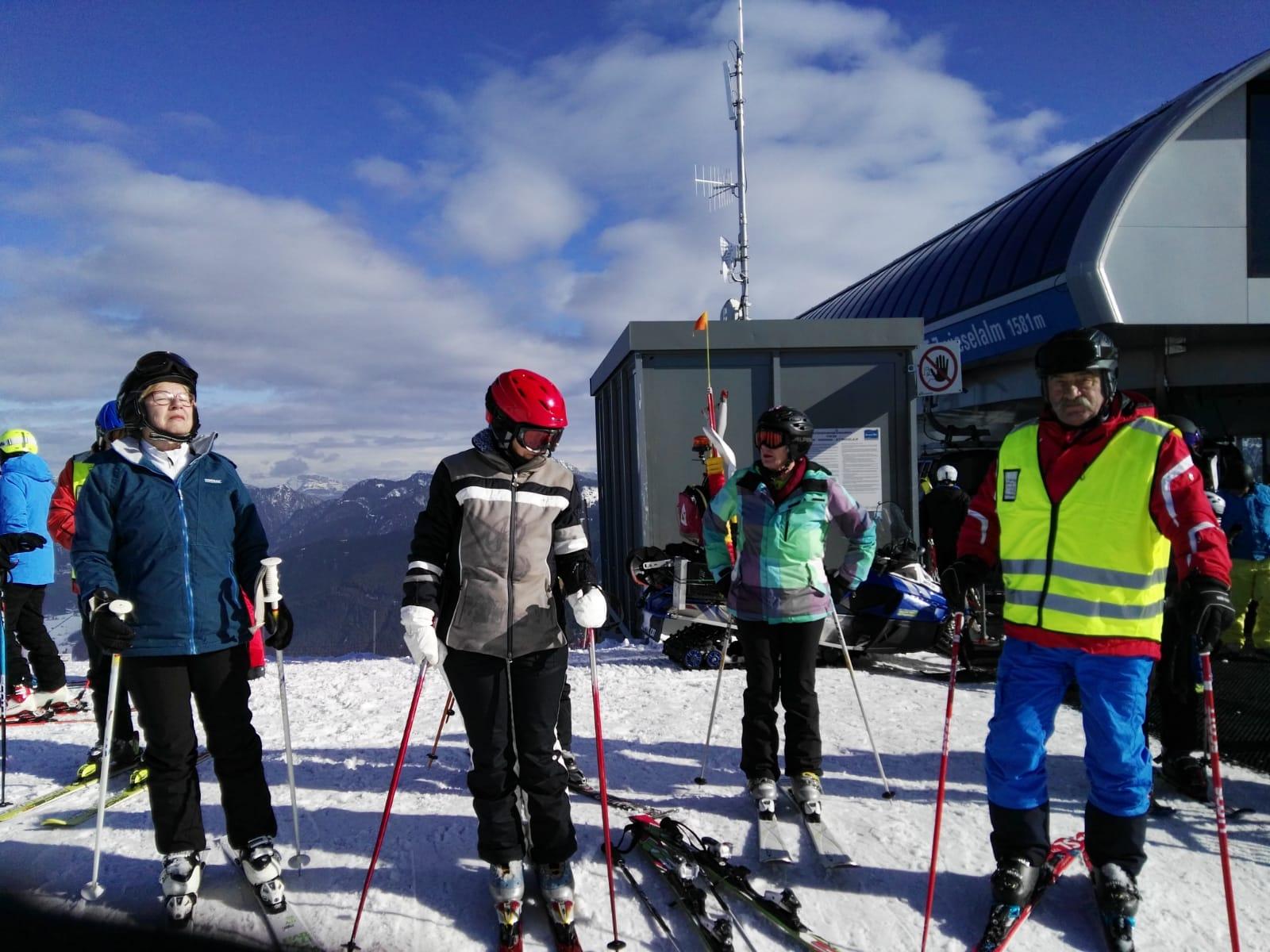 1. Tag Skifahrer Racingtaem 1