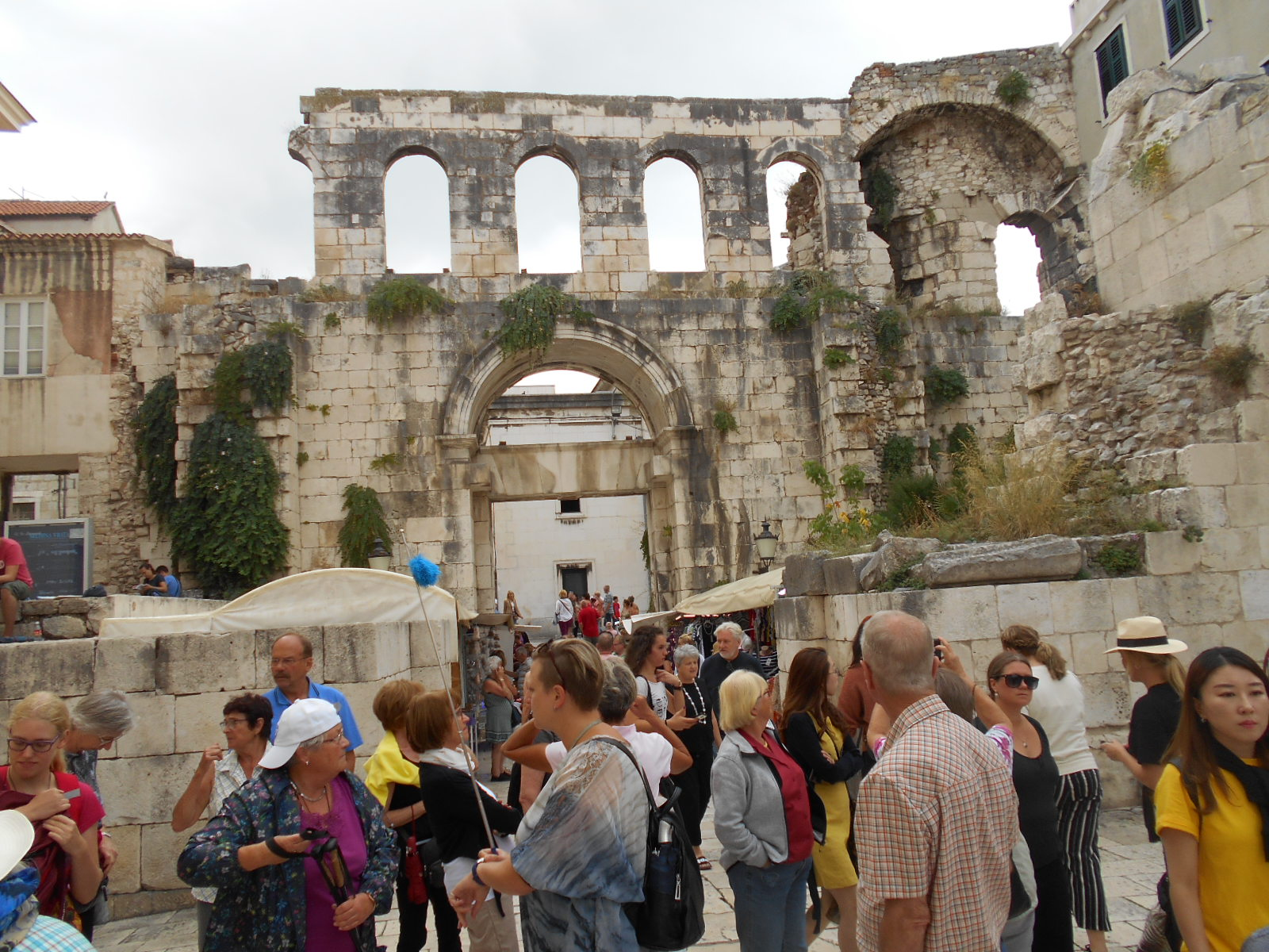 Ruinen des Diokletianspalastes in Split