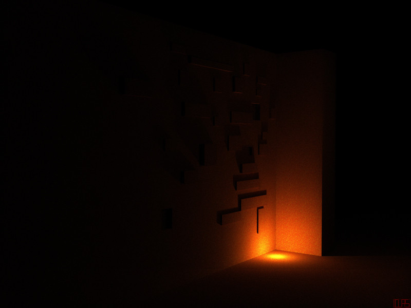 coin lumineux_Scène 1.2 __ Thème : sombre blotti