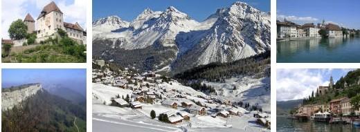 Wandern und Skifahren - polyspotive Wochen Schweiz