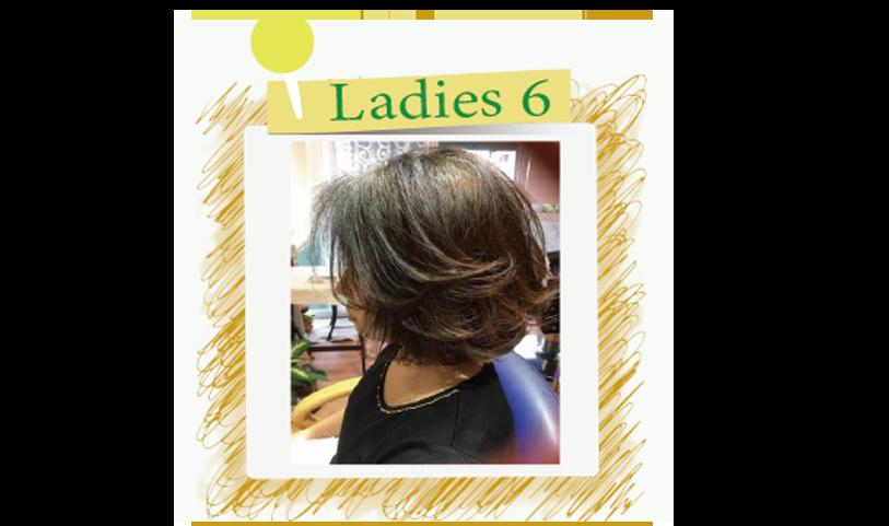 横須賀衣笠美容室B.B. ダークブラウンカラーの毛先にメッシュを入れ(遊び)を心強調