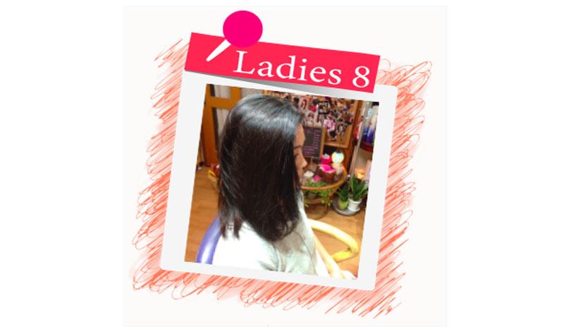 横須賀衣笠美容室B.B. ブラックよりのブラウンカラーにツヤ髪トリートメントでツヤツヤ