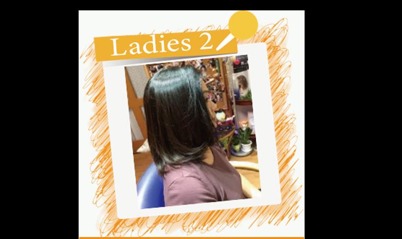 横須賀衣笠美容室B.B. ダークカラーにグラデーションを施し外ハネカット