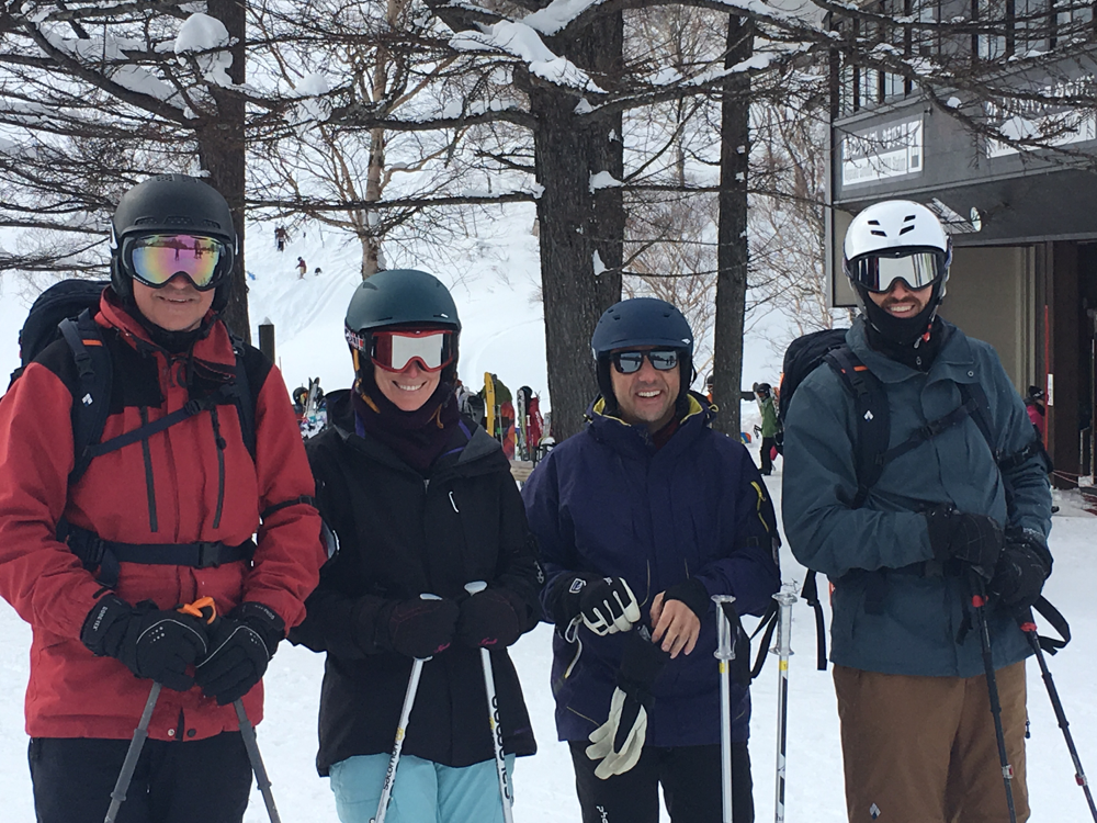 Skiing with the Soda Crew
