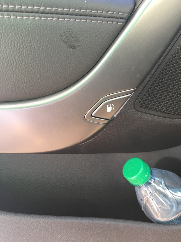 Ford wouldn't put fuel cap on door