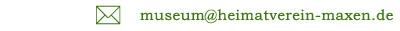 Eine eMail an die AG Heimatmuseum schreiben!