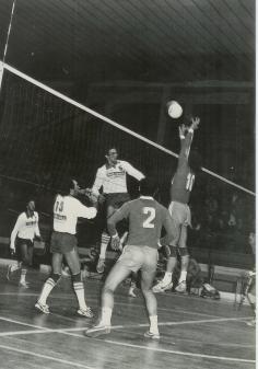 Pallavolo Novara serie B1 1986 - Bedana 10 e Kusmanov 2