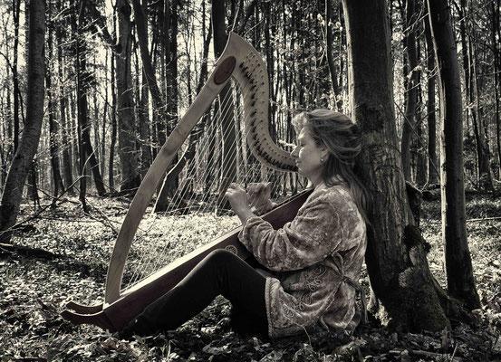 Foto: Donatella Abate (Keltische Harfe)