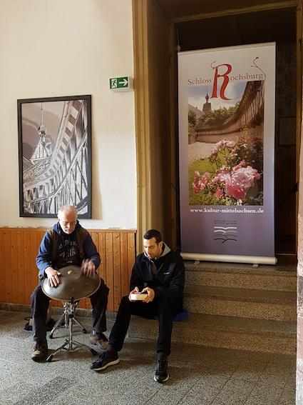 Hangklänge im Foyer mit Andram