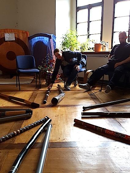 Didgeridoo-Workshop  mit Marco Munsch und Melanie Niermann