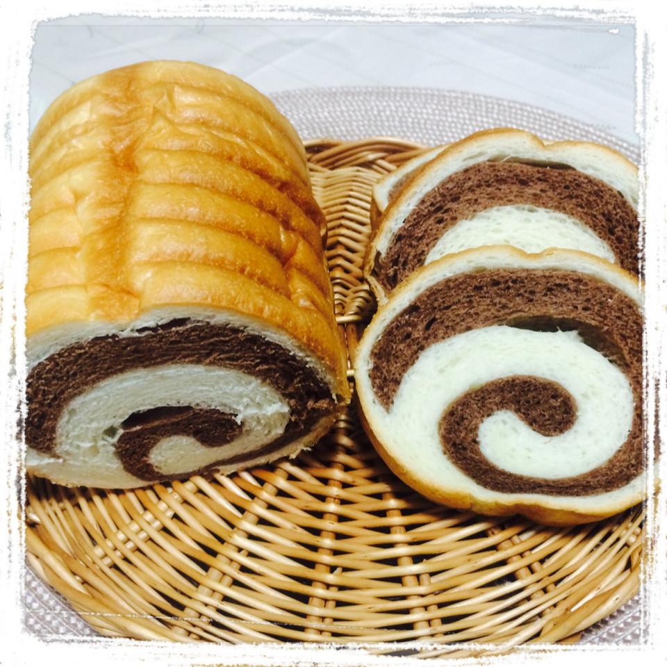 ラウンドパン(うずまきココア)