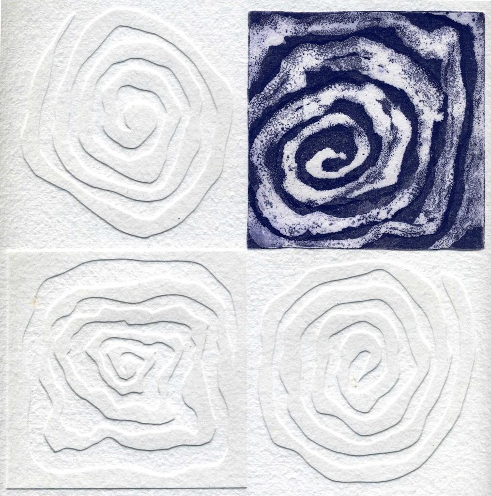 Nim, S/ título 3, Técnica mista, 20 x 20 cm