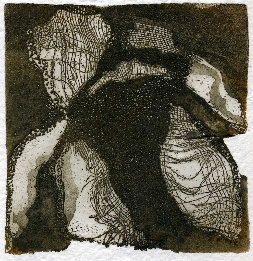 Nim, S/ título 5, Verniz mole e água tina, 10 x 10 cm