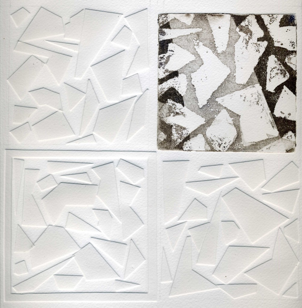 Nim, S/ título 2, Técnica mista, 20 x 20 cm
