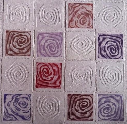 Nim, S/ título 4, Técnica mista, 80 x 80 cm