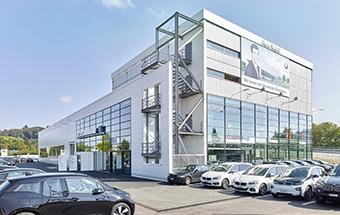 Bild: Zielgebäude Lauberhornrennen, Wengen