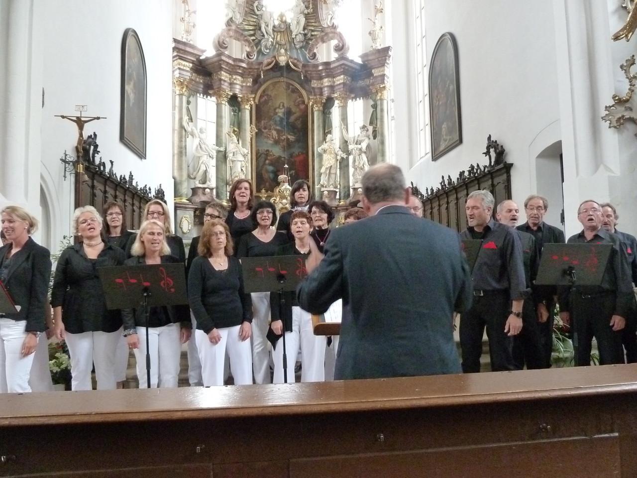 Auftritt in der Kath.Pfarrkirche Volkach
