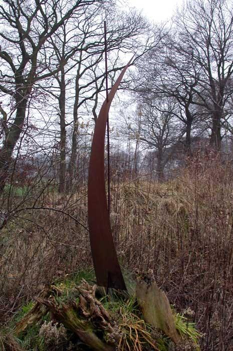 Metallobjekt - Skulptur - Segel - Entwurf und Gestaltung Marc Wehmer