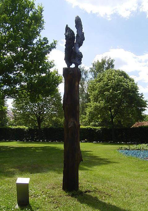 Metallobjekt - Skulptur - Flügel - Entwurf und Gestaltung Marc Wehmer