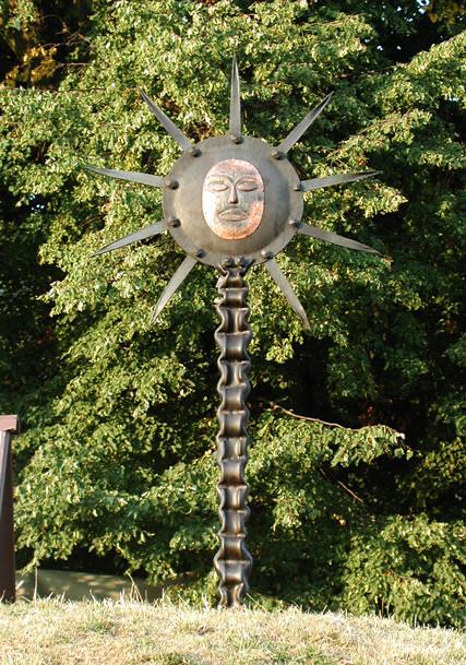 Metallobjekt - Skulptur - Sunna - Entwurf und Gestaltung Marc Wehmer + Angelika Hein