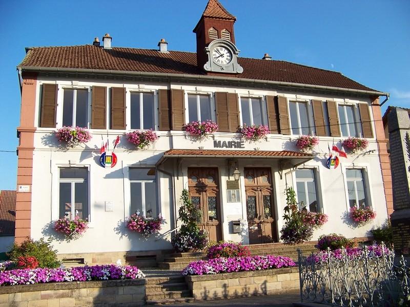 Mairie de Montreux-Château - Juin 2011