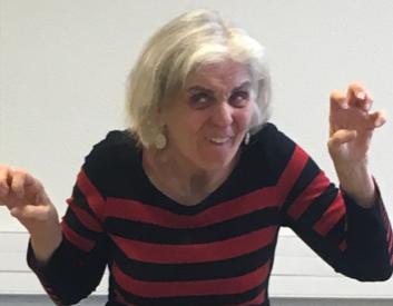 Mars à mai : Claire Péricard travaille sur La figure monstrueuse avec les élèves de 6è du collège Henri Wallon de Bezons