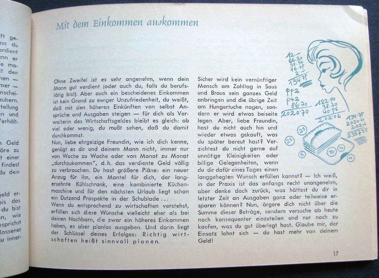Mit der Ehe fängt es an - Eheratgeber der Zentralsparkasse der Gemeinde Wien um 1960