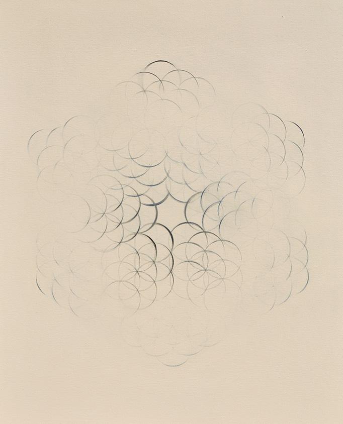 ,,Schneeflocke'' 2015 / 120x100 cm Acryl