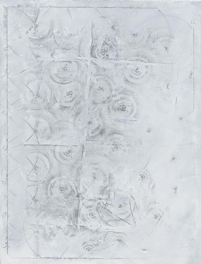 ,,der Grund'' 2016 / 156x110 cm Acryl