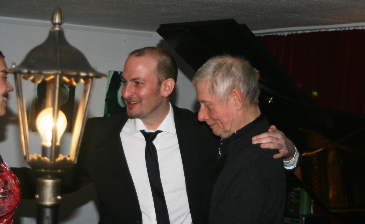 Klavierstudio Patrick Dieter - Impressionen, Wolfgang Hoyer und Patrick Dieter
