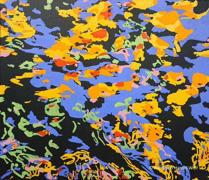 """My colors 2020"". Oil on canvas. 70 cm x 60 cm"