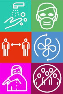 Hygienehandbuch zu COVID-19 Empfehlungen des BMBWF zum Schutz vor einer COVID-19-Ansteckung in elementarpädagogischen Einrichtungen und Schulen Bild: Scrs aus Hygienehandbuch bearbeitet spagra