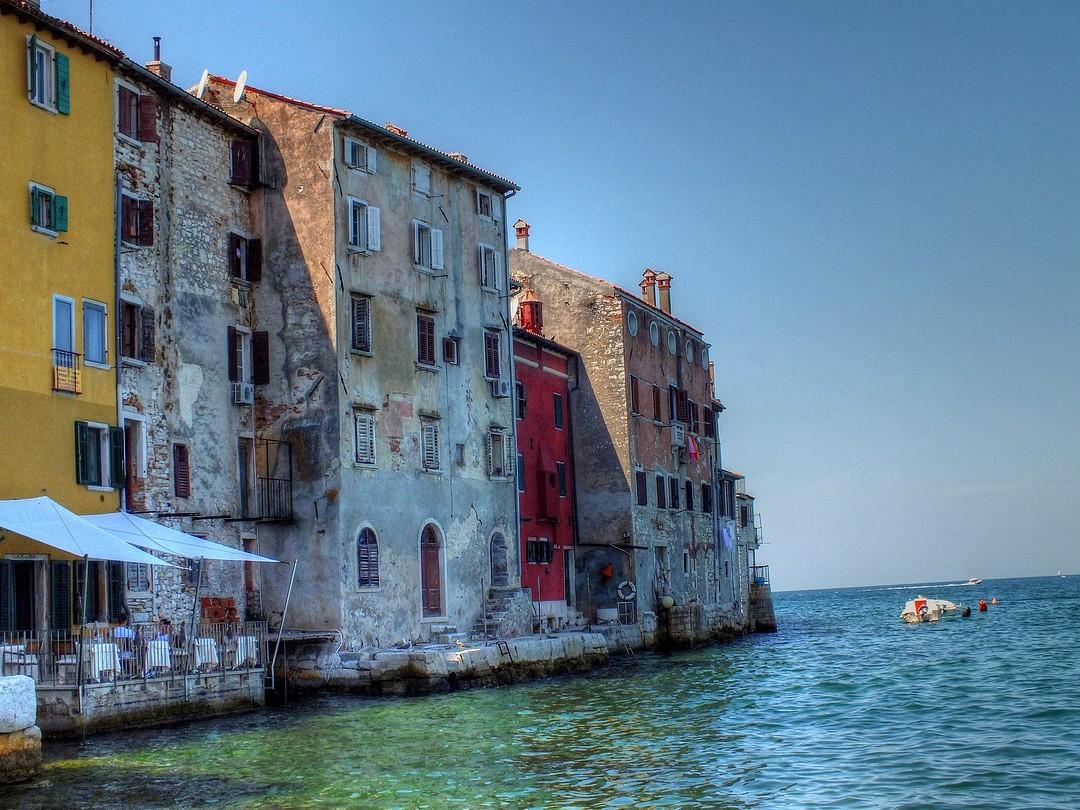 maisons sur l 'eau Rovinj