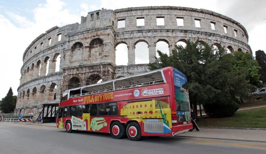 Pula city Tour idéal pour decouvrir toute la ville à votre rythme......